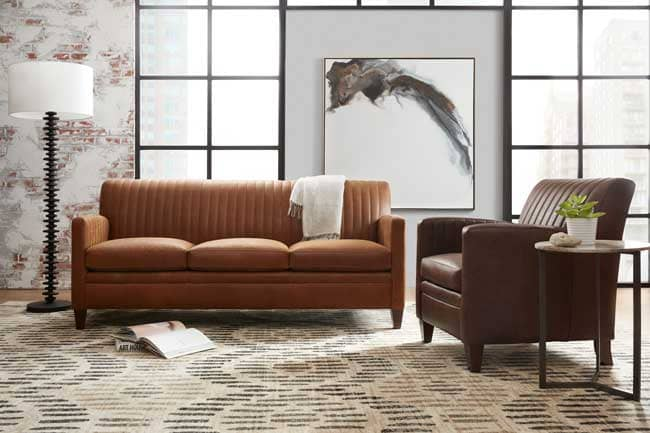 Pictured Above Is The Barnabus Sofa And Chair.
