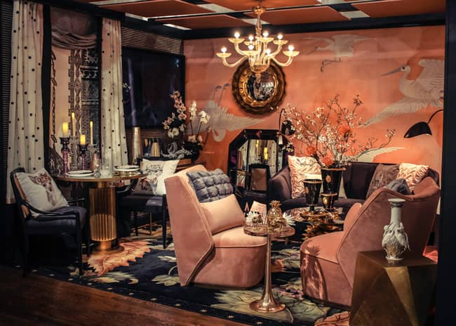 Nourison Donates Area Rugs And Home Accents To Five Design On A Dime Vignettes Furniture World News