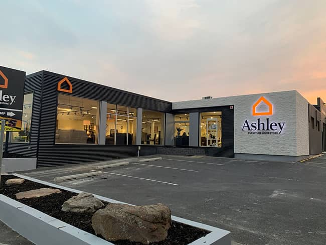 Ashley Furniture Homestore Opens New Store In Hobart Austrailia