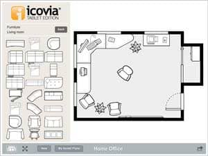 icovia takes space planning mobile with new tablet app furniture