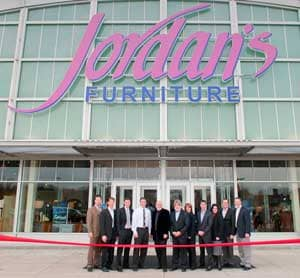 Marvelous Jordanu0027s Furniture Announced That It Opened Its Fifth Location In Warwick,  RI With A Ribbon Cutting Ceremony. The 115,000 Square Foot Store Joins  Macyu0027s, ...