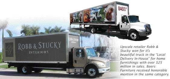 Second Furniture World Beautiful Truck Contest Furniture