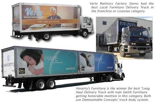 Second FURNITURE WORLD Beautiful Truck Contest