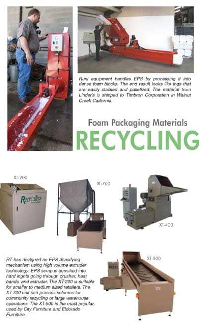 Foam Packaging Recycling Basics Furniture World Magazine