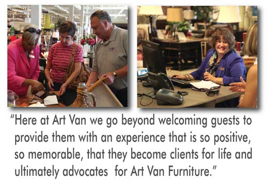 Many Art Van Sales Associates Are Certified Interior Designers While Others  Not In Possession Of Design Certification Have U201ca Dedicated And Loyal  Clientele ...