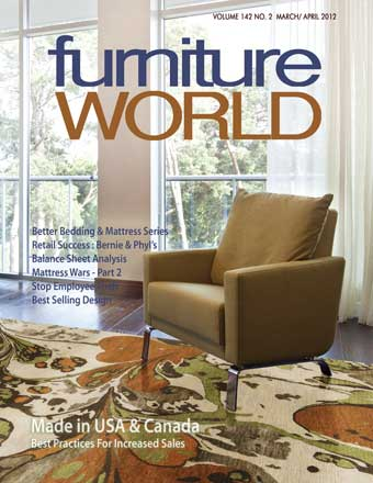 Jan/Feb 2012 Furniture World Magazine Cover