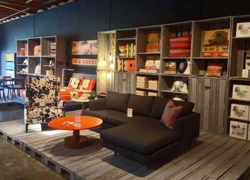 bobby berk home opens in los angeles furniture world magazine. Black Bedroom Furniture Sets. Home Design Ideas