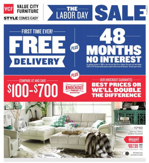 Advertising Insight From FurnitureAdTracker #2: Labor Day