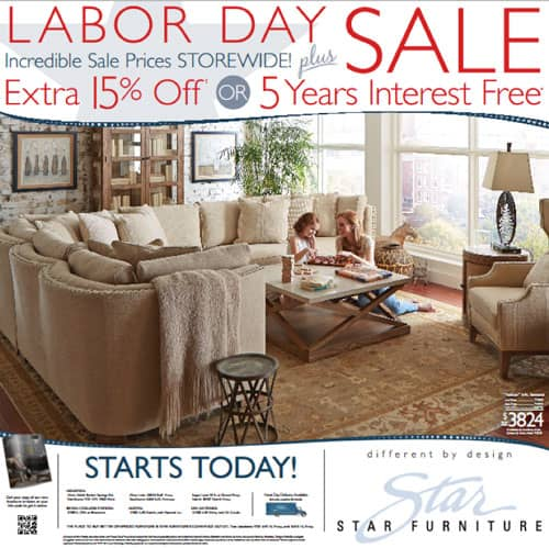 Furniture Store Ads: Advertising Insight From FurnitureAdTracker #2: Labor Day