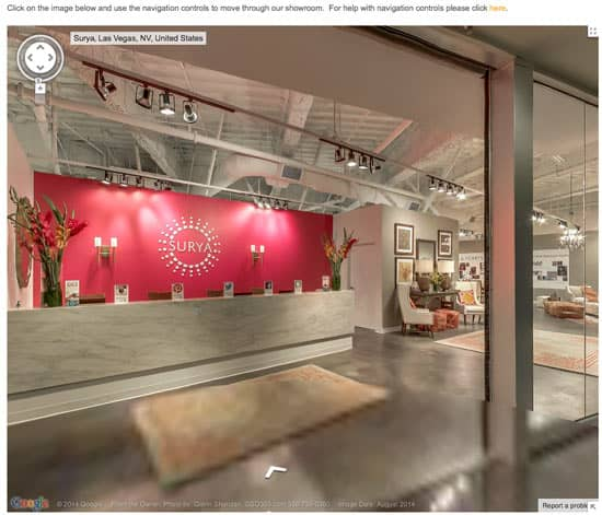 "Computer Desks Las Vegas: Surya Invites Designers And Retailers To ""Step Inside"" New"