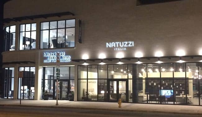 Natuzzi italia store opens in the miami design district for Furniture u district