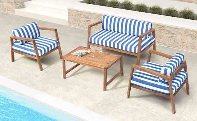 Zuo Modern Reported That It Recently Lauched A New Collection Of 100% Teak  Outdoor Dining And Occasional Pieces That Will Debut At The Pre Casual  Market At ...