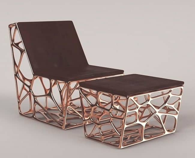 How 3d printing is turning the furniture business upside for Furniture 3d printing