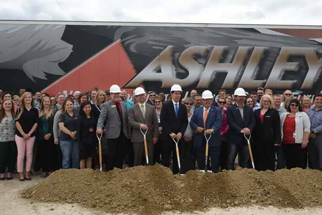 Ashley Furniture Industries, Recently Announced That It Has Breaken Ground  On The Largest Expansion For Arcadiau0027s Facility Since Their Inception In  1970.