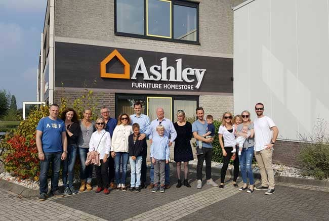 Ashley Furniture Homestore Opens First Store In The Netherlands
