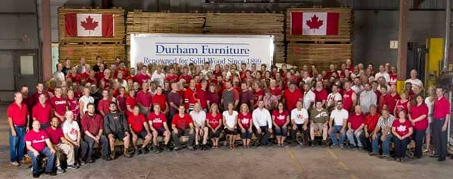 Durham Furniture Celebrates Canada Day Along With Their -Year
