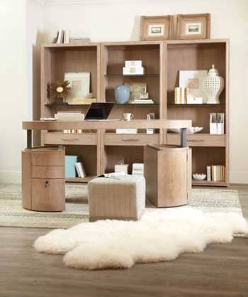 hooker furniture launches two next generation home office collections at fall high point. Black Bedroom Furniture Sets. Home Design Ideas
