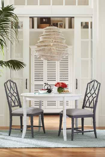 Keeping Room Tables and Chairs from the Bungalow Collection  For their  fifth collaboration  Universal Furniture and Paula Deen Home. Universal Furniture And Paula Deen Home Introduce Their Fifth