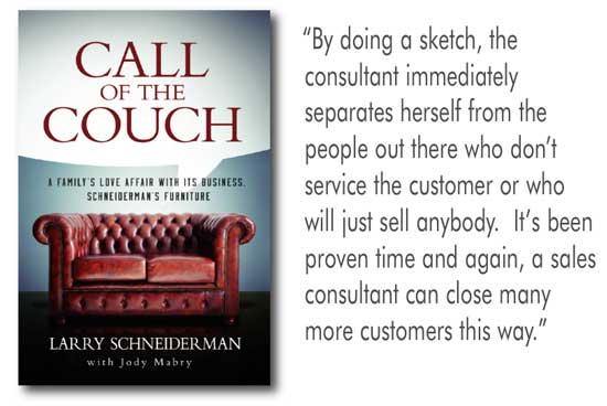 Retail Success Story Schneiderman S The Call Of The Couch