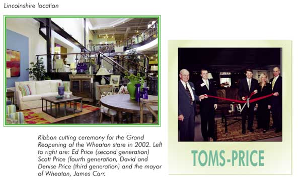 Retail Success Story Toms Price Furniture World Magazine
