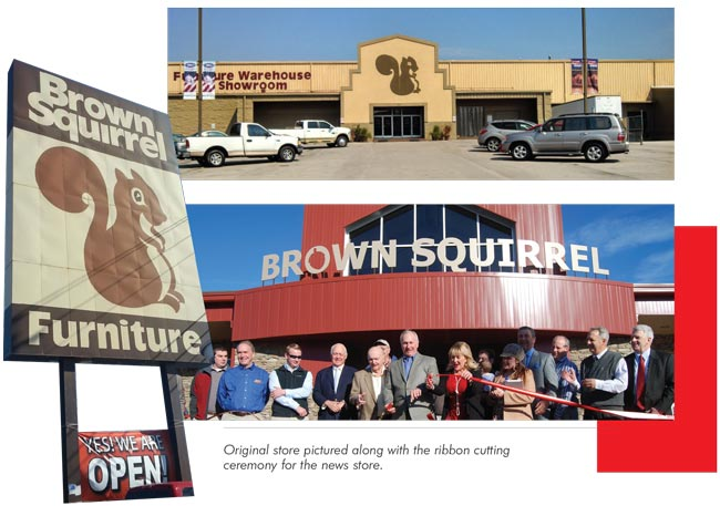 Beau U201cDad Opened Brown Squirrel In An Area That Was So Far West On Interstate 40  That A Lot Of People Thought It Wouldnu0027t Work. It Was Right In The Middle  Of The ...