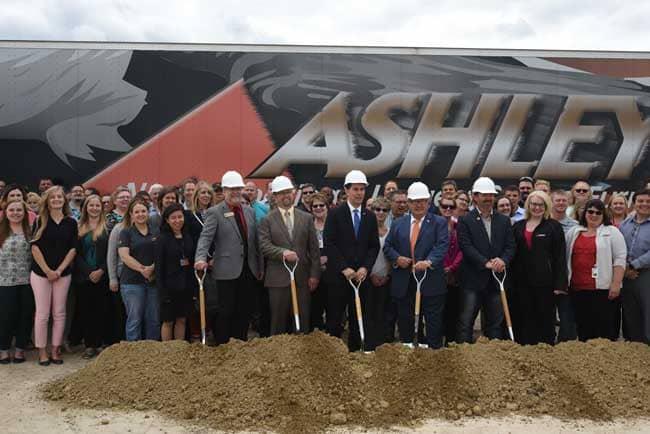 Ashley Furniture Arcadia Facility Breaks Ground On Largest Expansion
