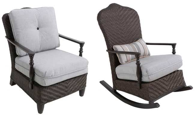 Bungalow Collection Chairs From The Paula Deen Home Outdoor Offerings